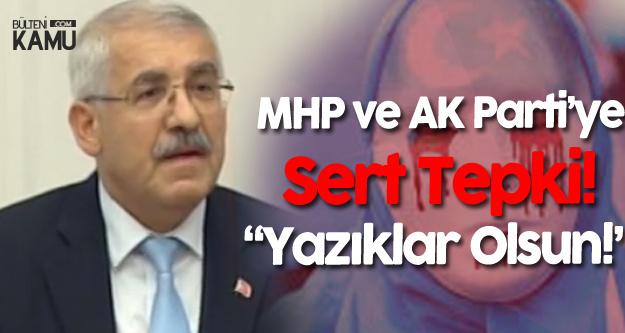 İYİ Partili Fahrettin Yokuş'tan MHP ve AK Parti'ye : Yazıklar Olsun