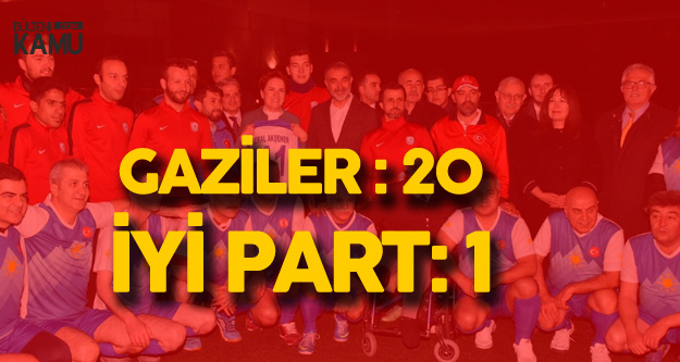 İYİ Spor Hezimete Uğradı - Ortotek Gaziler Futbol Takımı :20 İYİ Spor: 1