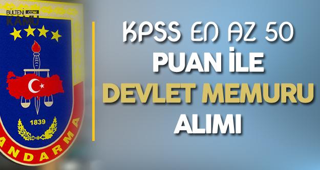 Jandarma ve Sahil Güvenlik Akademisi'ne Devlet Memuru Alımı Yapılacak (KPSS, Yaş ve Diğer Şartlar)