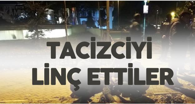 Kadıköy'de Bir Anda Ortalık Karıştı, Tacizciyi Linç Ettiler!