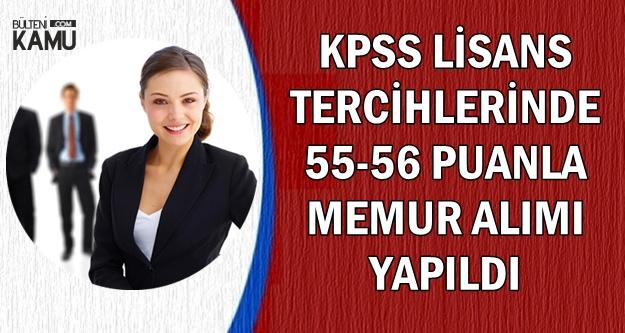 KPSS 2018/2 Lisans Tercihlerinde 55 Puanla Atama Yapıldı