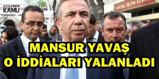 Mansur Yavaş İYİ Parti'yi Reddetti Haberi Yalan Çıktı