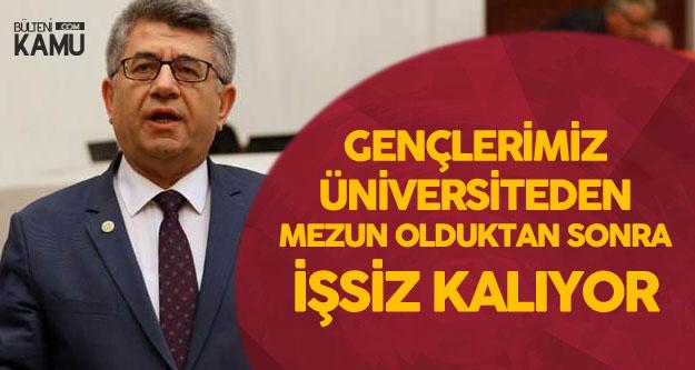 MHP'li Sefer Aycan: Bu Kadar Çocuğu Üniversiteye Alıyoruz, Ama Okul Bitince İşsiz Kalıyorlar