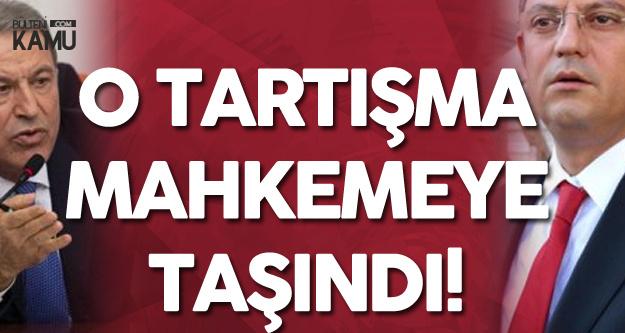 Milli Savunma Bakanı Hulusi Akar, CHP'li Özgür Özel Hakkında Suç Duyurusunda Bulundu