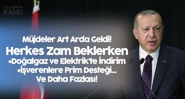 Milyonları İlgilendiriyor! Cumhurbaşkanı Erdoğan Az Önce Art Arda Müjdeledi: 2019'da Devlet Ödeyecek!