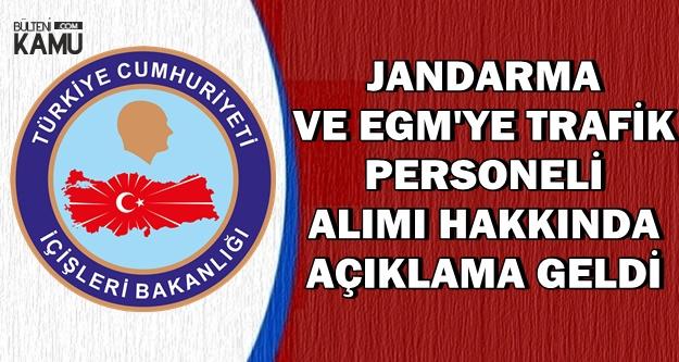 Soylu Açıkladı: EGM ve Jandarma'ya Trafik Personeli Alımı Yapılacak