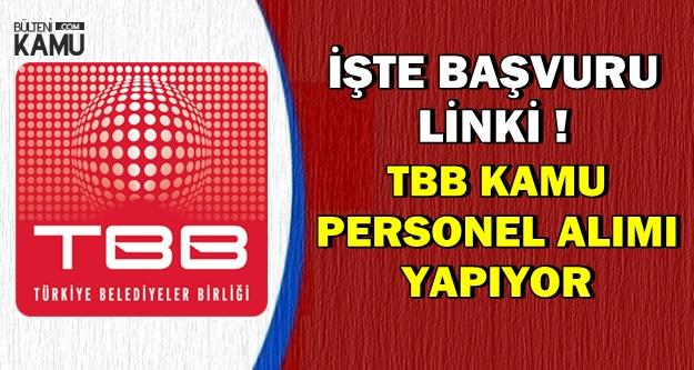 TBB Kamu Personeli Alımı Yapıyor-Son Başvuru: 12 Aralık 2018