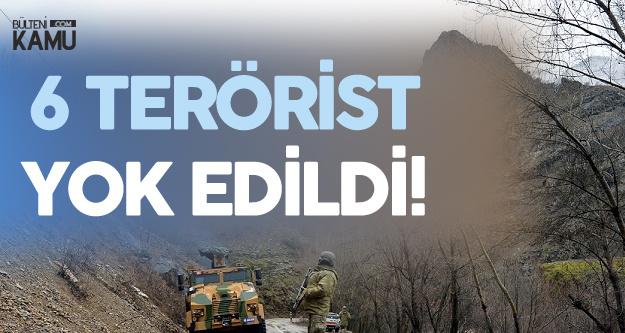 Tunceli'de Mağarada Sıkıştırılan 6 Bölücü Hain Yok Edildi