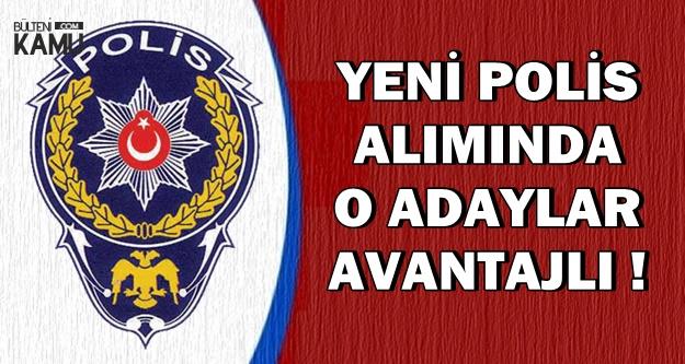 Yeni POMEM Polis Alımında O Adaylar Avantajlı