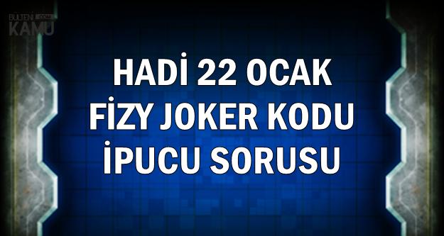22 Ocak Hadi Fizy Joker Kodu ve İpucu Sorusu: En Yeniler (Yerli) listesindeki 5. şarkı