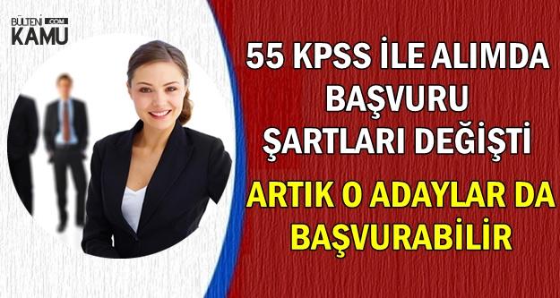 55 KPSS ile Memur Alımında Başvuru Şartları Değişti-O Adaylar da Başvurabilecek