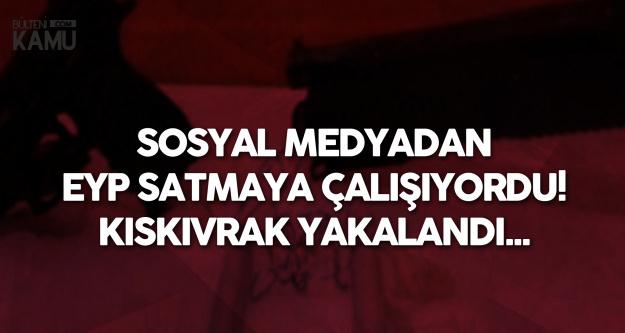 Afyonkarahisar'da Soyal Medya Üzerinden EYP Satmaya Çalışan Şahıs Yakalandı