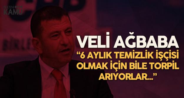 CHP Genel Başkan Yardımcısı Veli Ağbaba: İŞKUR'un Yeni Adı...