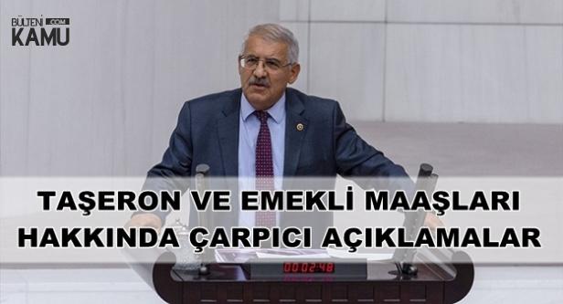 Fahrettin Yokuş'tan TBMM'de Emekli ve Taşeron Maaş Zammı Açıklaması
