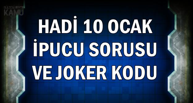 Hadi 10 Ocak Joker Kodu ve İpucu: Mikado Kaç Çubukla Oynanır?