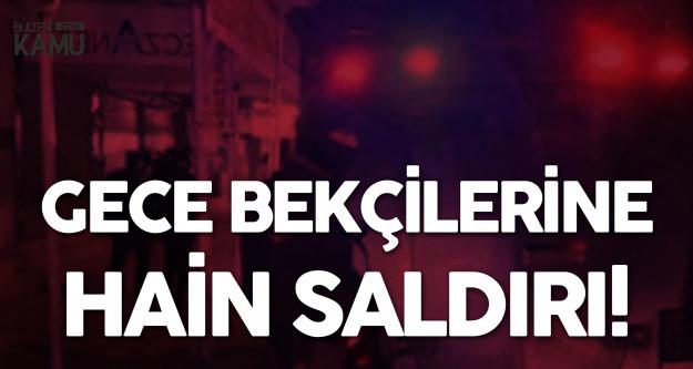 İstanbul Esenyurt'ta Çarşı ve Mahalle Bekçilerine EYP'li Saldırı