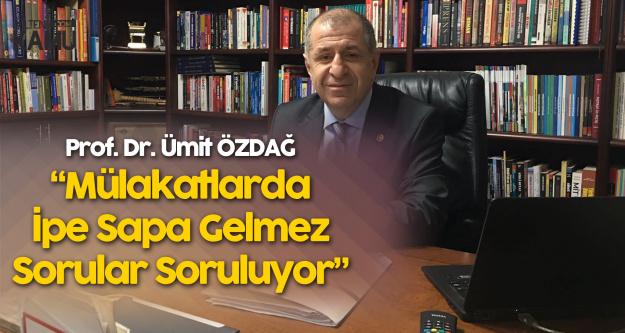 İYİ Parti Genel Başkan Yardımcısı Ümit Özdağ ile Özel Röportaj