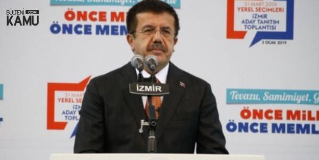 İzmir Büyükşehir Belediye Başkanı Adayı Zeybekçi'den 'İZBAN' Açıklaması