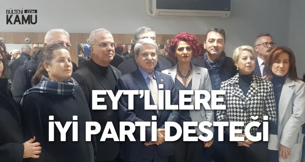 İzmir'de Toplanan EYT'lilere İYİ Parti Desteği
