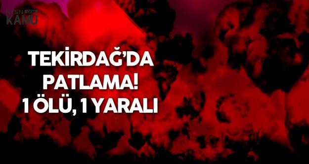 Otogarda Kalorifer Kazanı Patladı : 1 Ölü , 1 Yaralı