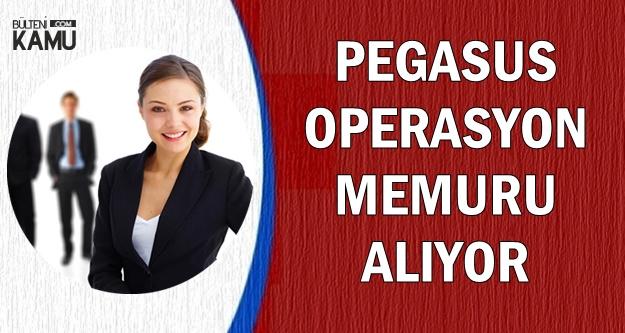 Pegasus Operasyon Memuru Alıyor