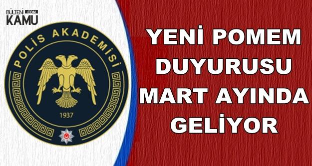Polis Akademisi Yeni POMEM Duyurusu Mart Ayında (Polis-PÖH Alımı)