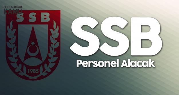 SSB'ye Sözleşmeli Personel Alımı Yapılacak (Asistan, Mühendis)