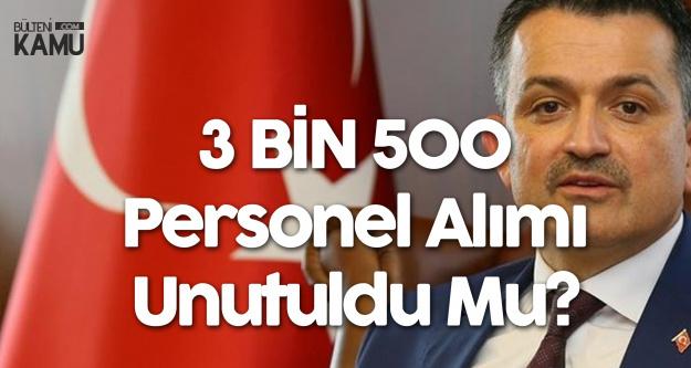 'Tarım Bakanlığı 3 Bin 500 Personel Alımı' Yine Gündeme Geldi! Ama...