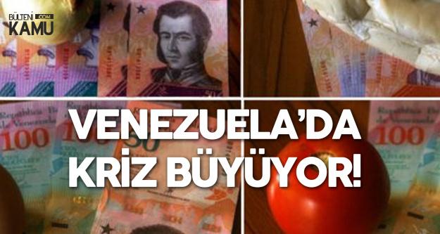 Venezuela'daki Asgari Ücret 'Yok Artık' Dedirtti