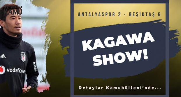 Beşiktaş'ın Yeni Transferi Shinji Kagawa İlk Maçında Yıldızlaştı! Beşiktaş Antalyaspor'u Farklı Geçti