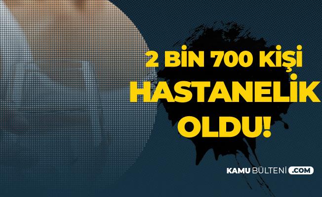 Burdur Bucak'ta 2 Bin 761 Kişi Hastaneye Kaldırıldı!