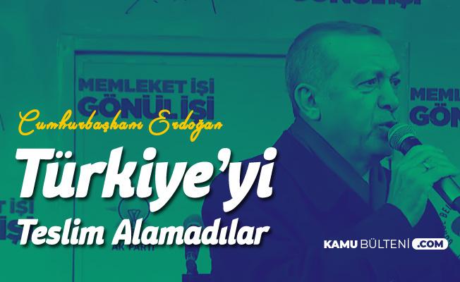 Cumhurbaşkanı Erdoğan: 252 Şehit, 2 Bin 193 Gazi Verdik Ama Hainler Türkiye'yi Teslim Alamadı