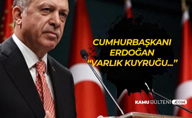 Cumhurbaşkanı Erdoğan'dan Tanzim Satış Açıklaması : Bizim Kuyruklar Yokluk Kuyruğu Değil, Varlık Kuyruğu