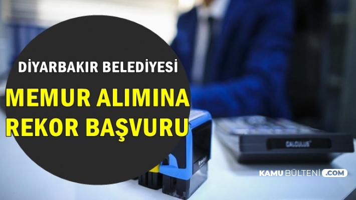 Diyarbakır Belediyesi 2019 Personel Alımına Rekor Başvuru