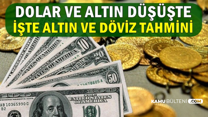 Dolar ve Gram-Çeyrek Altın Düşüşe Geçti-İşte Güncel Döviz Kuru ve Altın Fiyatları