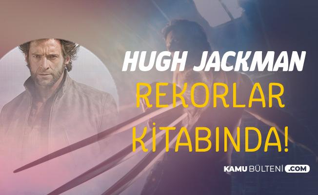 Dünyaca Ünlü Oyuncu Hugh Jackman Guinness Rekorlar Kitabına Girdi
