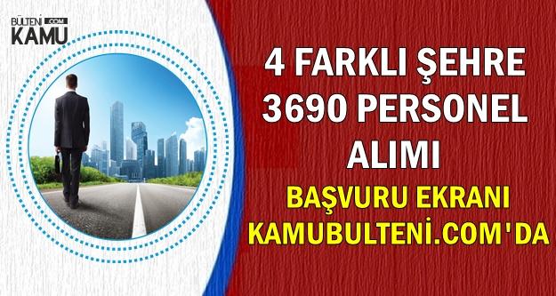 Hastane, Belediye, Müftülük ve Başsavcılığa İŞKUR'dan Sınavsız 3690 Personel Alımı