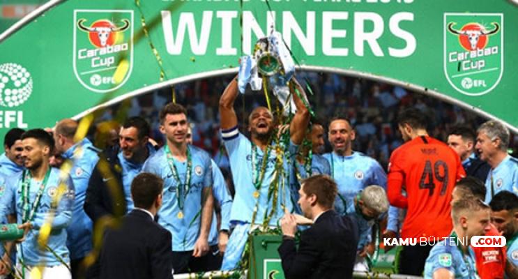 İngiltere Lig Kupası Manchester City - Chelsea Final Maçı Sonucu