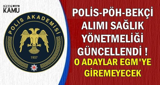 45 Bin Polis-PÖH-Bekçi Alımı Öncesi Güncelleme
