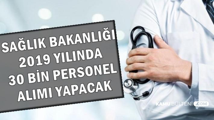 Sağlık Bakanlığı 30 Bin Kamu Personeli Alımında Son Durum