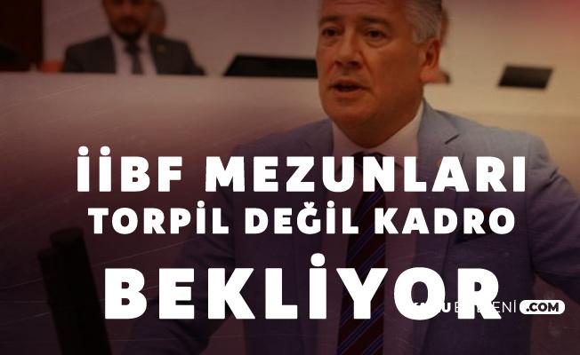 Trabzon Milletvekili Hüseyin Örs'ten İİBF Çağrısı: Mağduriyetleri Giderilmelidir