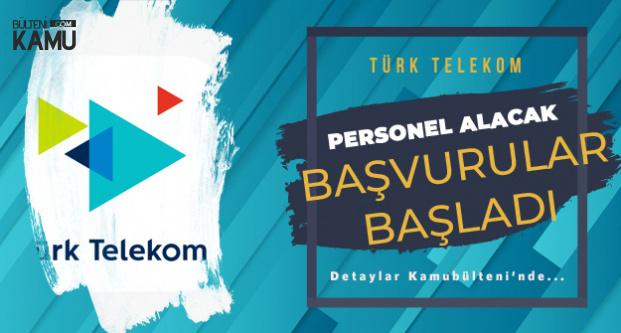 Türk Telekom KPSS'siz 6 Farklı Pozisyonda Personel Alımı Yapacak