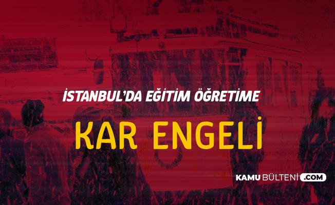 Son Dakika! İstanbul Valiliği'nden Kar Tatili Açıklaması Geldi ( 25 Şubat 2019 İstanbul'da Okullar Tatil Mi?) Sorusu Yanıt Buldu