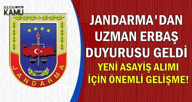 Yeni Asayiş Alımı İçin Önemli Gelişme: Jandarma'dan Uzman Erbaş Atama Duyurusu