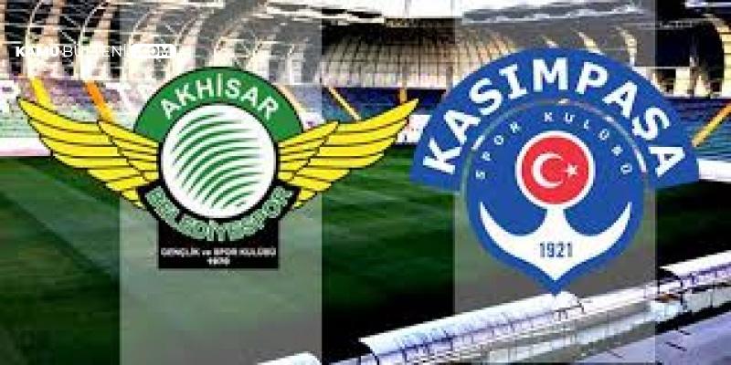 Ziraat Türkiye Kupası Çeyrek Finalinde Akhisarspor ile Kasımpaşa Karşı Karşıya Geldi