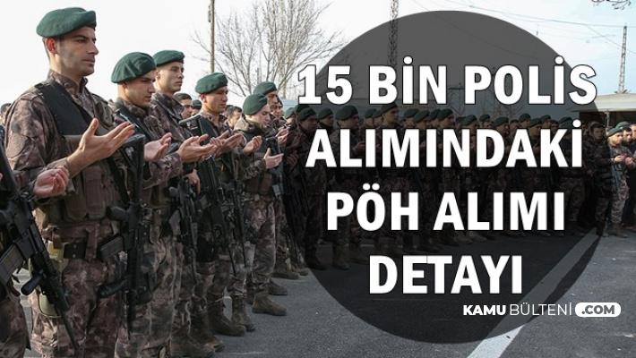 Süleyman Soylu'nun POMEM Polis Alımı Açıklamasındaki PÖH Detayı 2019