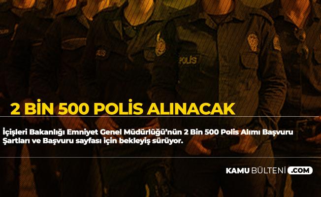 2 Bin 500 Kadın Polis Alımı Başvuru Şartları ve Başvuru Sayfası Bekleniyor