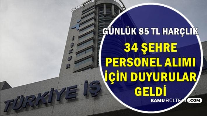 34 Şehirde Yeni Duyuru: İşsizlere 85 TL Harçlık: İşte Başvuru Sayfası