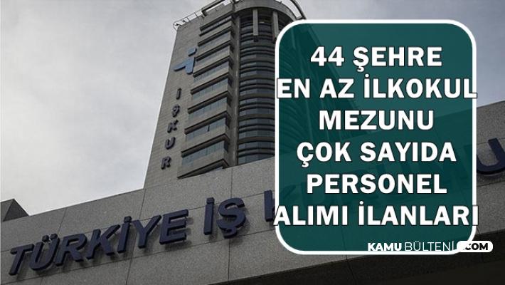 44 Şehirde Yeni İlan: İŞKUR'dan Personel Alımı İlanları Bugün Yayımlandı