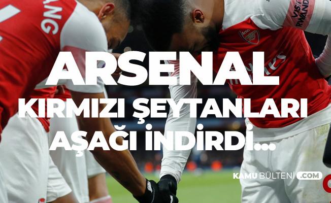 Arsenal Mancehester United'i 2-0 ile Geçti